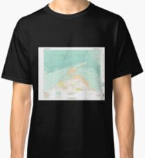 USGS Topo Map Washington State WA Dungeness 240906 1956 24000 Classic T-Shirt