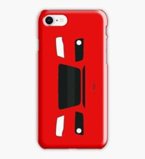 B8 simple front end design iPhone Case/Skin