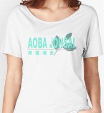 Aoba Johsai High School Logo Women's Relaxed Fit T-Shirt