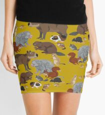 I Am Thankful For Rodents Mini Skirt