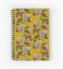 I Am Thankful For Rodents Spiral Notebook