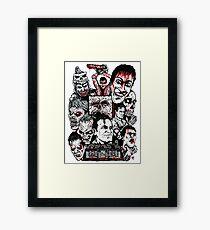 Evil Dead Trilogy Framed Print