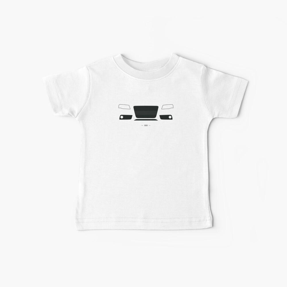 B8 einfaches Frontenddesign Baby T-Shirt