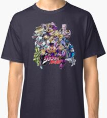 JoJo's Bizarre Adventure: Diamond Is Unbreakable Characters Classic T-Shirt