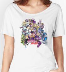 JoJo's Bizarre Adventure: Diamond Is Unbreakable Characters Women's Relaxed Fit T-Shirt