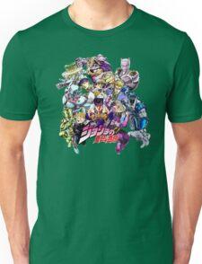 JoJo's Bizarre Adventure: Diamond Is Unbreakable Characters Unisex T-Shirt