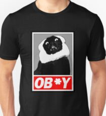 Ob*y breaded cat Unisex T-Shirt