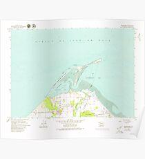 USGS Topo Map Washington State WA Dungeness 240903 1979 24000 Poster
