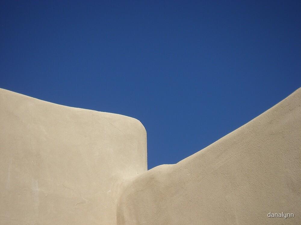 Blue skies and adobe by danalynn