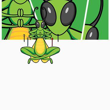 Patient Grasshopper 2 by wynnter