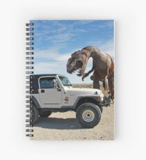 Be Careful - You Never Know What You Might Find In The Desert Spiral Notebook