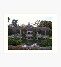 Balboa Park, San Diego 3 Art Print