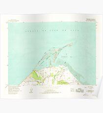 USGS Topo Map Washington State WA Dungeness 240902 1956 24000 Poster