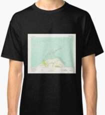 USGS Topo Map Washington State WA Dungeness 240902 1956 24000 Classic T-Shirt