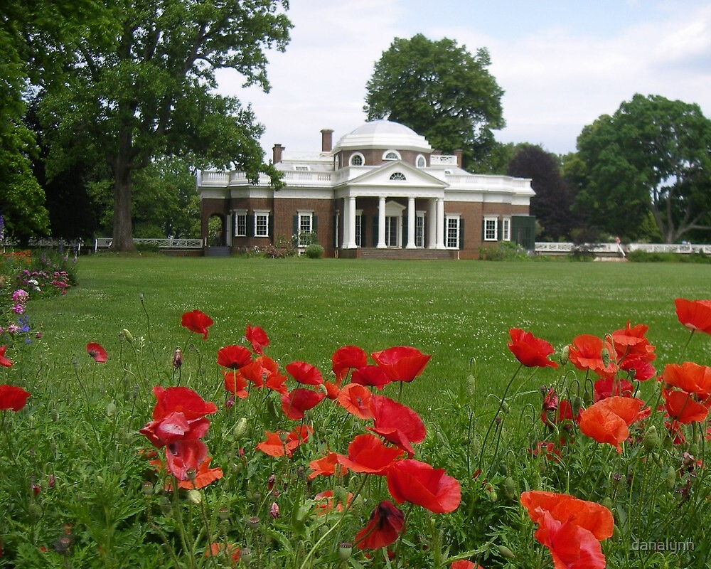 Monticello - Jefferson's home in Virginia by danalynn