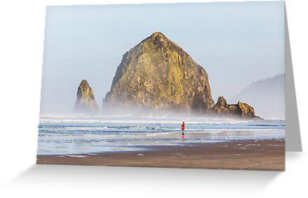 Haystack Rock by Jim Stiles