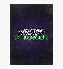 Stranger Photographic Print