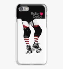 Love Roller Derby iPhone Case/Skin