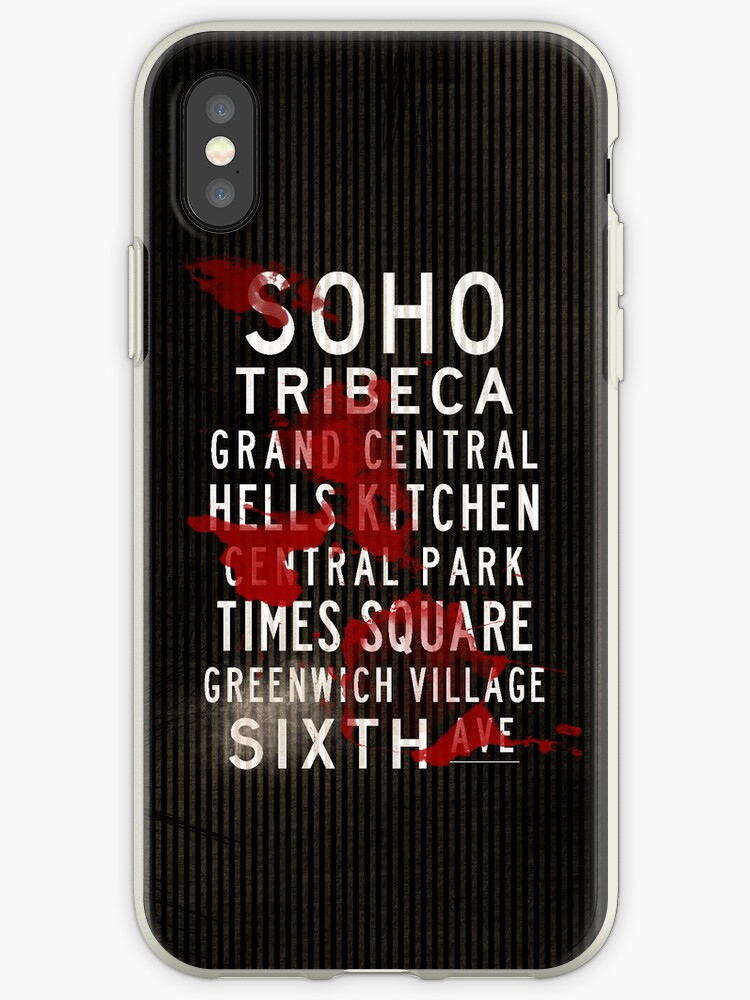 Bloody Grunge Distressed SOHO New York Subway by Subwaysign