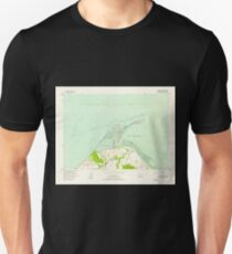 USGS Topo Map Washington State WA Dungeness 240901 1956 24000 Unisex T-Shirt