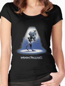 Moon-ST-walker Women's Fitted Scoop T-Shirt