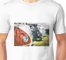 VW buses on display Unisex T-Shirt