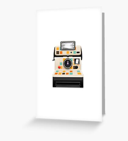 instant camera Greeting Card