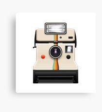 instant camera Canvas Print