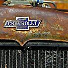 Chevrolet Badge Wall Art by HoskingInd