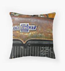 Chevrolet Badge Wall Art Throw Pillow