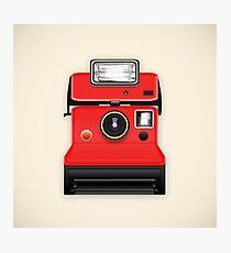 instant camera Photographic Print