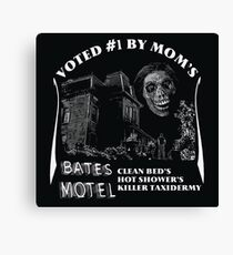 Bates Motel is my mom's choice Canvas Print