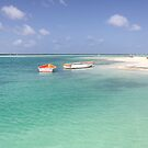 Sorobon Beach and Lagoon, Bonaire by Kasia-D