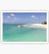 Sorobon Beach and Lagoon, Bonaire Sticker