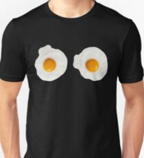 Sarah Lucas inspired fried egg t-shirt  Unisex T-Shirt