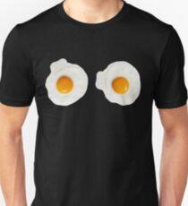 Sarah Lucas inspiriert Spiegelei T-Shirt Slim Fit T-Shirt