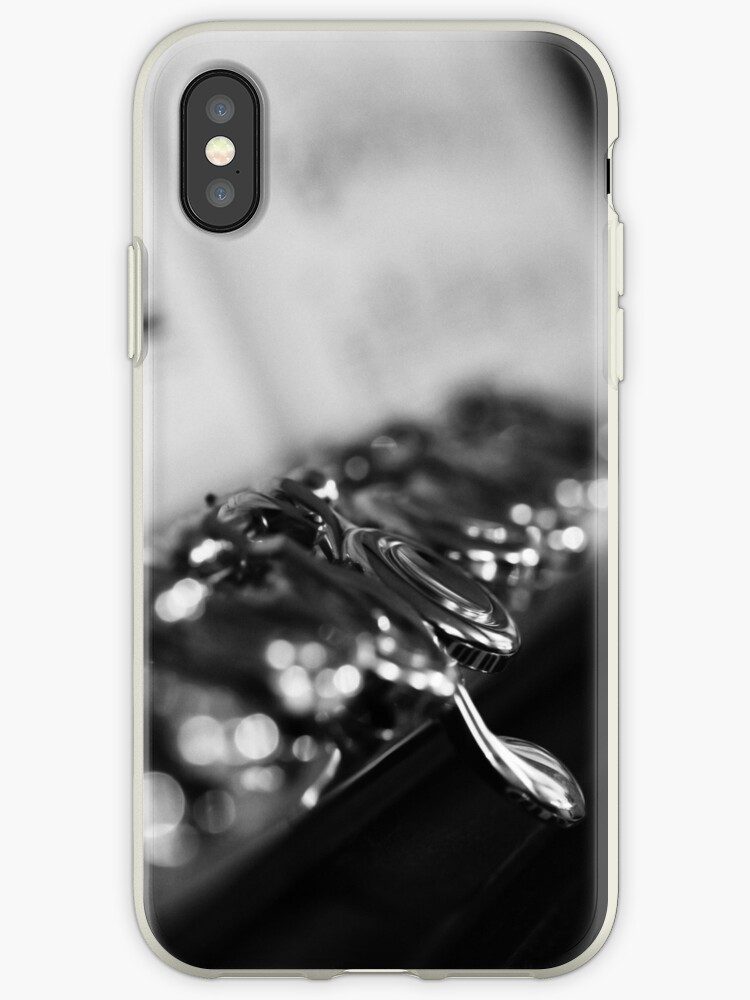 G# Black and White iPhone / iPod Case by Astrid Ewing Photography