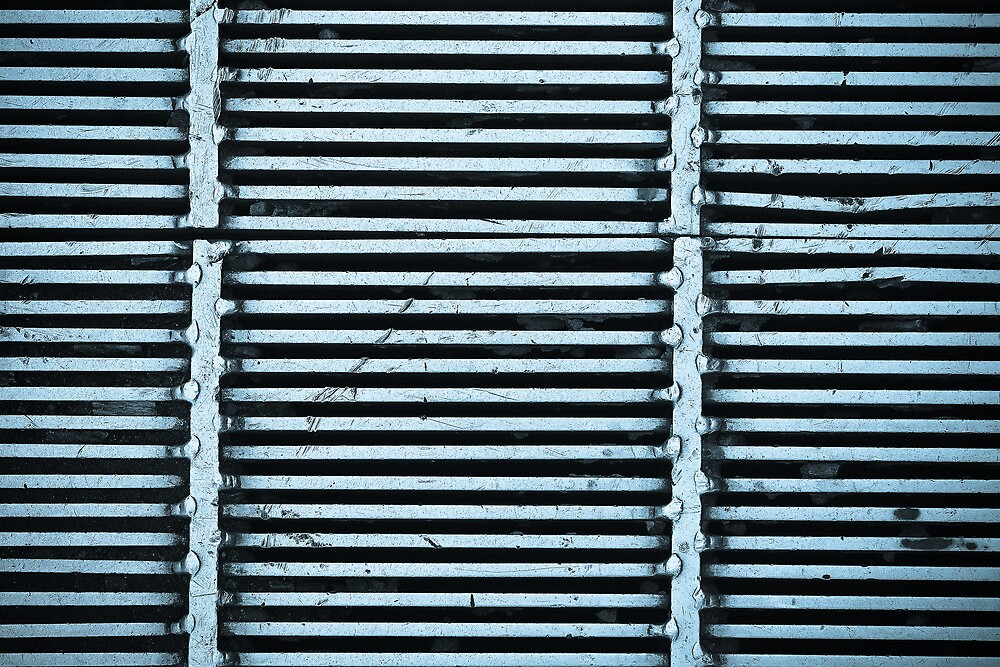 Road Grate Wall Art by HoskingInd