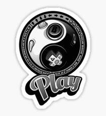 Playing-yang Sticker
