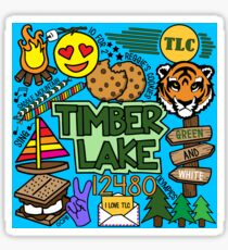 Timber See Sticker