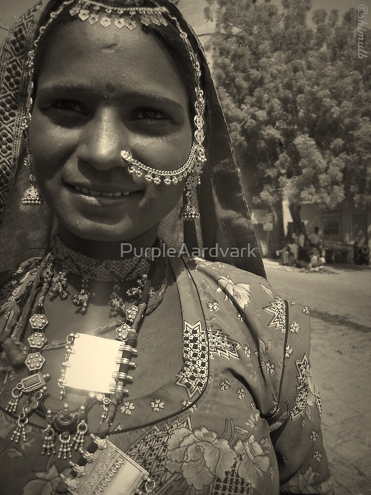 Rajhasthani Local Lady by PurpleAardvark