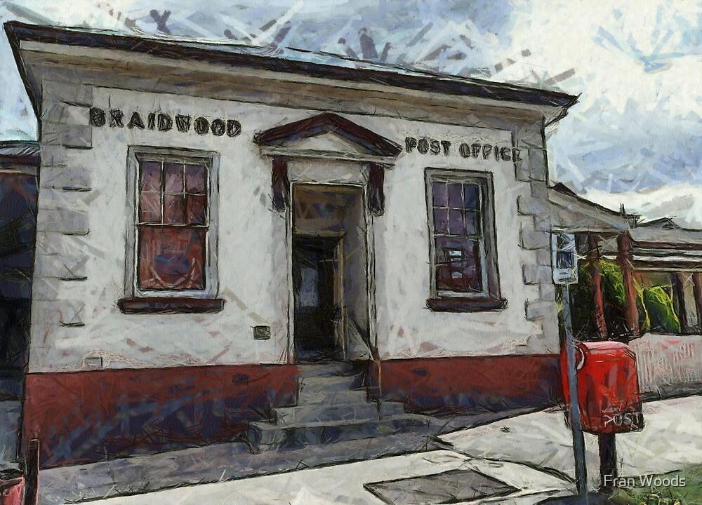 Braidwood Post Office by Fran Woods