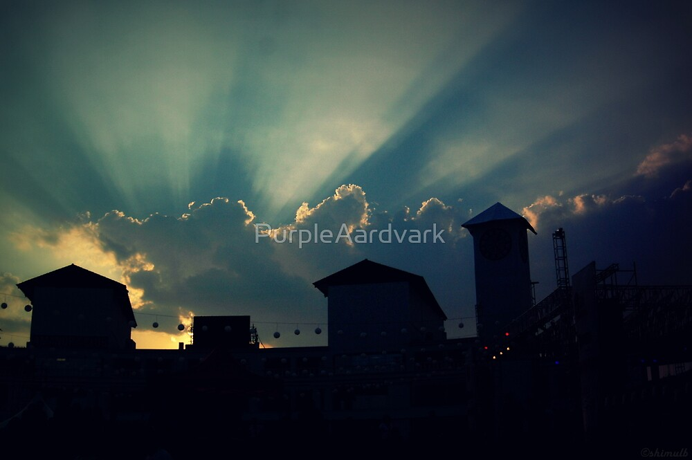 Electric Sky by PurpleAardvark