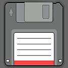 Floppy disk retro Ipad Case by dgoring