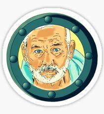 Bill Porthole  - blue Sticker