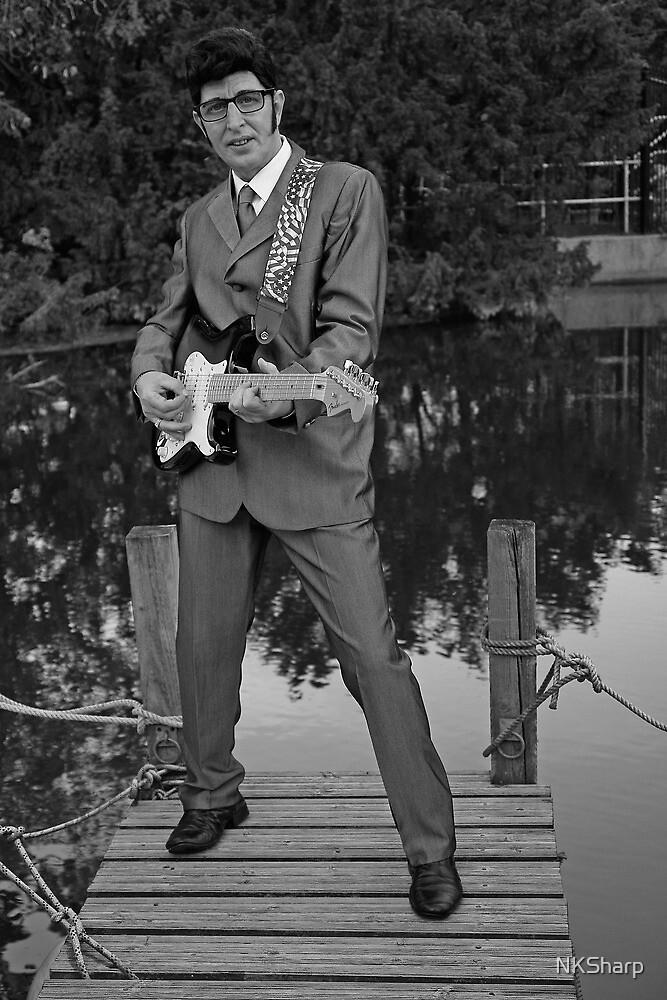 Deak as Buddy Holly by NKSharp