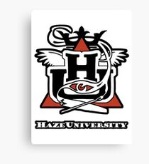 HAZE UNIVERSITY Canvas Print