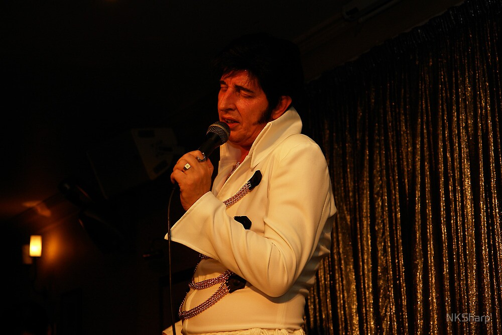Deak as Elvis at Porthcawl Elvis Festival. by NKSharp