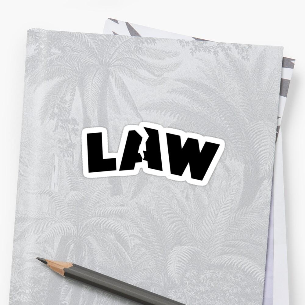 Breaking the law by Leevis