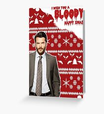 HTGAWM - Bloody good Christmas [Frank] Greeting Card